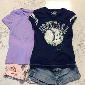 Girls Outfit Lot Size 6